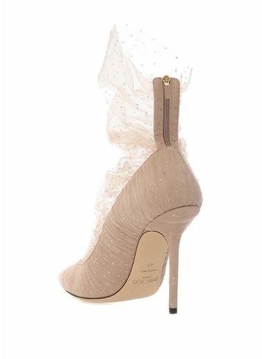 Jimmy Choo Ayakkabı Pudra
